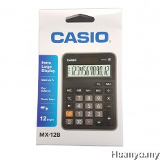 Casio Calculator MX-12B