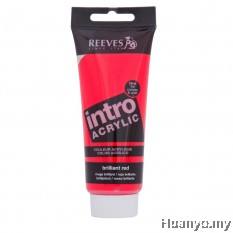 Reeves Intro Acrylic Colour 120ML (Brilliant Red)