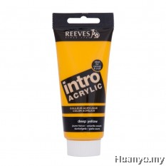 Reeves Intro Acrylic Colour 120ML (Deep Yellow)