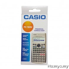 Casio Financial Consultant FC-100V