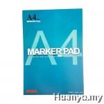 Syamal Marker Pad A4 50's