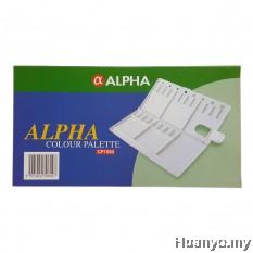 Alpha Artist Watercolor Oil Acrylic Colour Plastic Palette