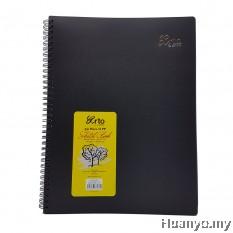 Campap Arto Wire-O Black Paper A4 Sketch Book - 140gsm/40's