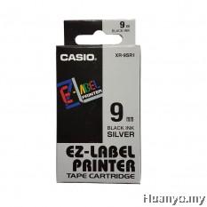 Casio EZ-Label Tape Cartridge 9mm - Silver