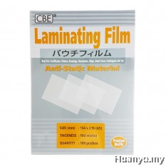 CBE Laminate/Laminating Film A5 Paper