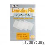 CBE Laminate/Laminating Film 75 X 110MM