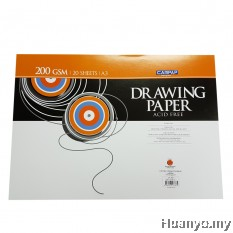 CAMPAP Drawing Paper 200GSM A3 Size