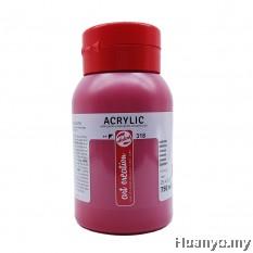 Royal Talens Acrylic Colour - Carmine Red (750ML)