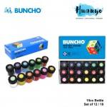 Buncho Poster Colour (Set of 12 / 18 Color Set, 15CC Bottle)