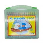 Buncho Gabang Oil Pastel (55 Colours / 60pcs)