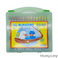 Buncho Gabang Oil Pastel (55 Colours / 60pcs)