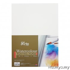 Campap Arto Watercolour A4 Painting Paper 300gsm/10pcs (Cotton)
