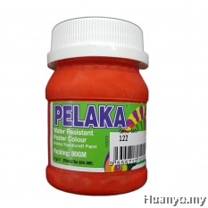 Pelaka Mural Poster Colour Vermillion Red (No.122) - 80g