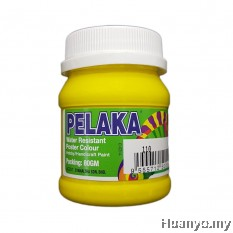 Pelaka Mural Poster Colour Lemon Yellow (No.110)- 80g