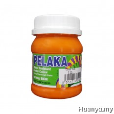 Pelaka Mural Poster Colour Orange (No.115) - 80g