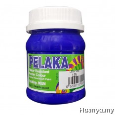 Pelaka Mural Poster Colour Marine Blue (Special Colour) - 80g
