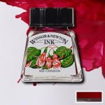 Winsor & Newton Drawing Ink - Crimson (14ml)