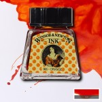 Winsor & Newton Drawing Ink - Orange (14ml)