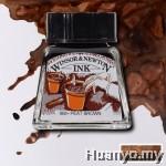 Winsor & Newton Drawing Ink - Peat Brown (14ml)