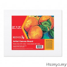 "Reeves Artist Canvas Board 24""x 18''"