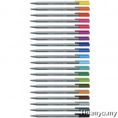 Staedtler Triplus Fineliner 0.3mm (Individual Colour)