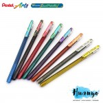 Pentel Hybrid Dual Metallic Gel Pen (Sets of 8)
