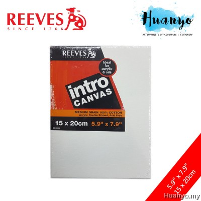 Reeves Intro Artist Stretch Canvas (15 X 20cm)
