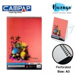 Campap Premium Sketch Book A3 135gsm - 15 sheets