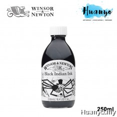 Winsor & Newton Drawing Ink - Black Indian Ink (250ml)