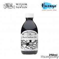 Winsor & Newton Drawing Ink - Black Indian Ink (250ml)