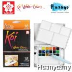 Sakura Koi Water Colours Pocket Field Sketch Box - 18 Colours