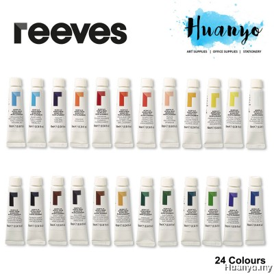 Reeves Acrylic Colour Paint (Color Set of 24)
