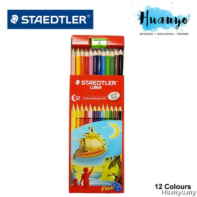 Staedtler Luna 12 Long Colour Pencils