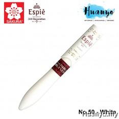 Sakura Espie 3D Decoration Marker Pen No.50 - White