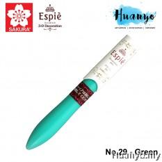 Sakura Espie 3D Decoration Marker Pen No.29 - Green