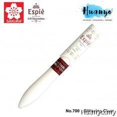 Sakura Espie 3D Decoration Marker Pen No.700-Glittering Clear
